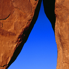 Teardrop Arch, Monument Valley by Don Fine