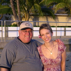 Jenny + Donny-Hawaii 2005