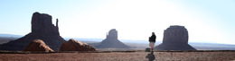 The Panorama, Monument Valley by Greg Iger 4/8/2010.