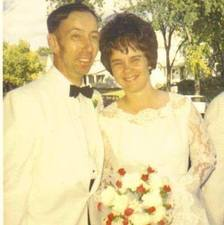 September 27, 1969 Mom and Dad's wedding day