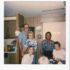 Donna, Jay, Wanza, Tom, & Mother