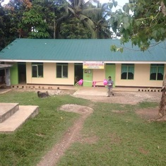 The school, CRs, water/septic that Dr. Portugal, CARP and LIFE For Health helped build.