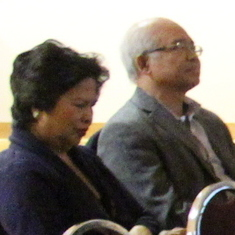 Doc Kiko and wife at FCT annual general meeting in October 2014.