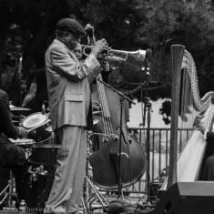 2012 at AfroSolo Yerba Buena Gardens.  In this photo:  Eddie Gale, Trumpet