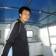 2011 Thailand, diving boat