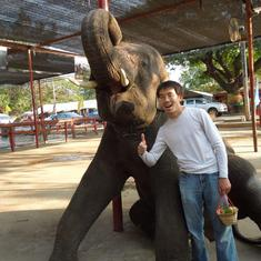 A happy boy in Thailand 2011