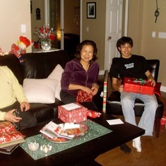 Merry Christmas, Son! Love you and miss you! As always .... ( from 2008 or 2009 or 2010??)
