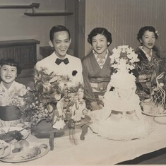 She married the love of her love, Fumihiko Nakatani