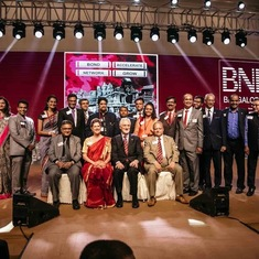 Beth and Dr.Misner as the Chief Guests of Honour at the BNI Bangalore Members Day 2019, India