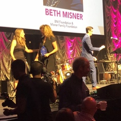Honored to share this night with Beth