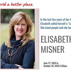 Elisabeth Misner & the BNI Core Values. A tribute from BNI Bangalore, India