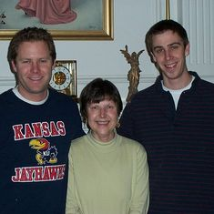1/2/06 - Christopher Cooley, Emily, & Jonathan Cooley (Emily's nephews)