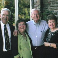 Ernie, JoAnn and her brother, Jerry and wife Sylvia Prouse