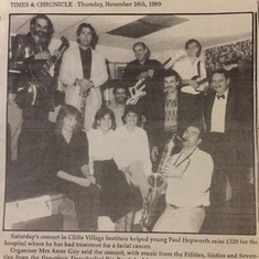 Selby Times photo 11 Nov 1989 @ Cliffe Village Hall