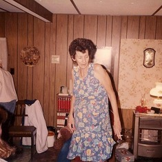 granny faye at her home in Frisco Tx