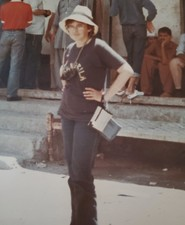 Felicia in Pakistan 1984