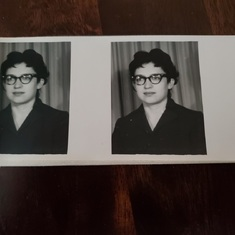 Required employment application photo's circa 1962