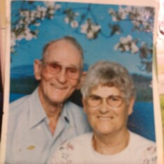 THE WORLD BEST GRANDMA & GRANDPA THAT ANYONE COULD ASK FOR @nd Very much LOVED & MISSED VERY MUCH