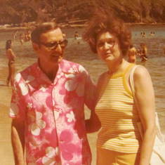 1979 summer Hawaii with Jackie and Frank 2