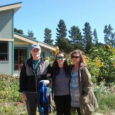 Frank, Danielle and Janet Port Townsend 2017