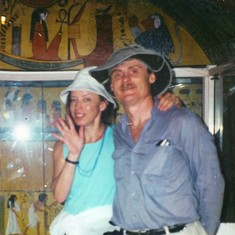 In a cool tomb, Egypt c. 1999