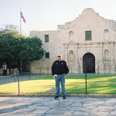 Gerry at Alamo