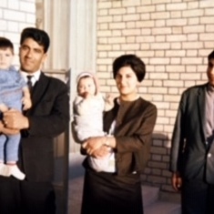 Ghassem and family in  Ghoochan (1965)