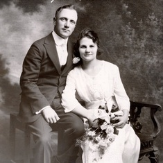 Glenn's parents - Wiliam Allen Palmer & Elsie Faye Ranney were married June 16, 1920 in Wheeler Wisconsin.