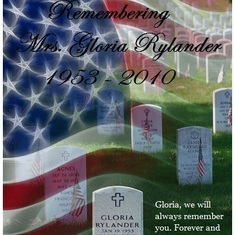 Gloria ~ Happy Memorial Day