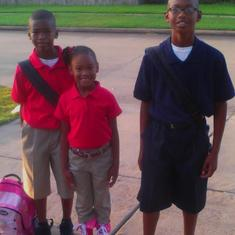 1st day of school 2012