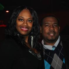 me and wife @ sis bday party II