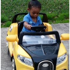 KyRen really thinks he is driving . . . LOL