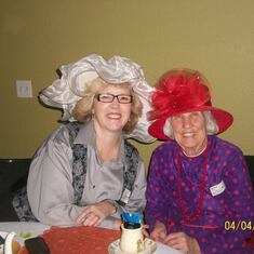 From the mad hatter tea party at central church