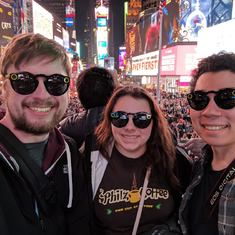Times Square with Spectacles