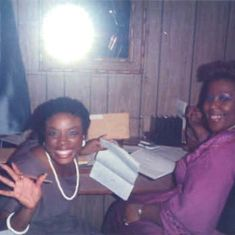 Gwen and Wendy Gonzales Organizing the Church Office (1983)