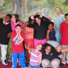 Silly pic at our after school program 2005
