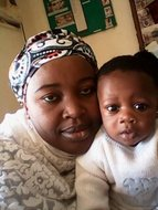 My sweet sister and her son