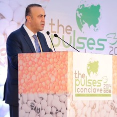 Hakan's Special Address at The Global Pulses Conclave in Mumbai in 2012