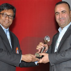 Hakan with IPGA Founder - President, Pravin Dongre