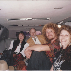 limo to airport -switzerland - fall 1991