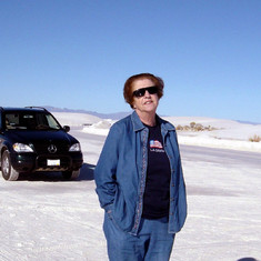 White Sands National Monument, NM, Dec. 2002.