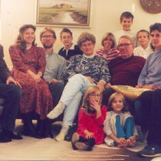 1995 The whole Horst & Helga clan (Jesse to come in the future)