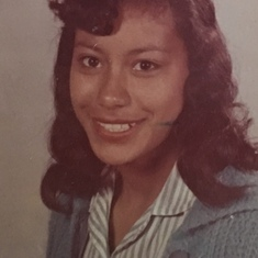 Mom in high school