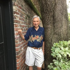 Sam's 80th birthday in Charleston, SC - his dream trip to witness the total eclipse - 2017
