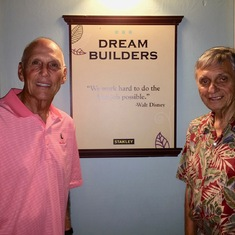 With good friend Mike Robichaux - two dream builders