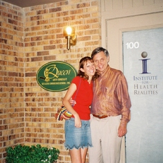 With granddaughter Stacy - 2002