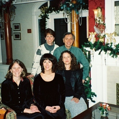 The original core of the Institute for Health Realities - longtime employees and friends Leigh, Laurel and Cherie - Cliff House meeting, Colorado Springs 2001