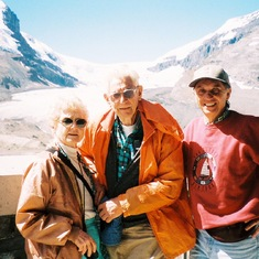 With Amy & Fred Kummerow in Banff, Canada - 1997