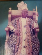 Ikwu 1 on his throne