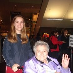 Grandmom and Michele in DC